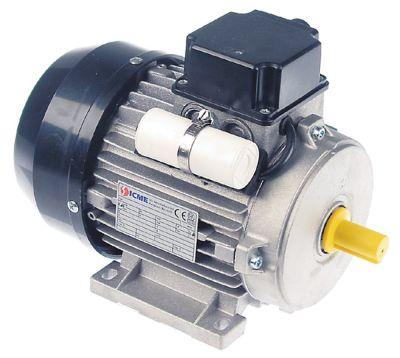 μοτέρ 370W 230V 50Hz φάσεις 1 φάση ø άξονα 14mm 1400σαλ τύπος M71BL4T  ø 140mm H 180mm Μ 210mm
