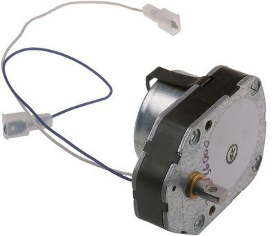 μειωτήρας CROUZET  3,5W 230V 50Hz ø άξονα 8mm Μ 80mm W 60mm H 40mm για βιτρίνα πίτσας