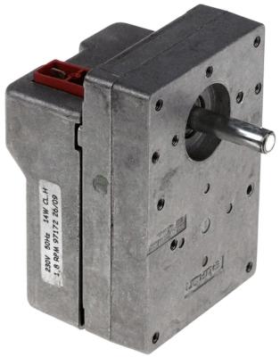 μειωτήρας BITRON  τύπος 97172 14W 230V 50Hz 1.8σαλ ø άξονα 8.5mm κατεύθυνση περιστροφής δεξιά Μ 106mm