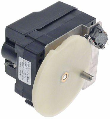 μειωτήρας τύπος ST0676  11W 220/240 V τάση AC  50/60 Hz 1σαλ ø άξονα 8mm W 80mm D 93mm H 112mm