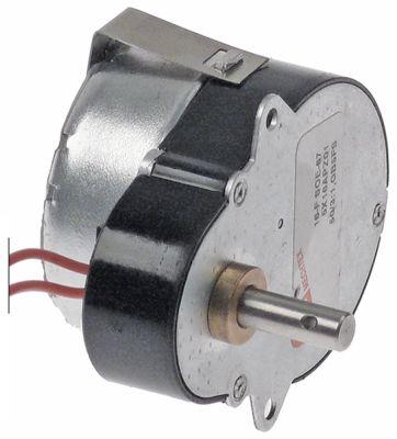 μειωτήρας 12V ø άξονα 6mm H 37mm Μ 66mm W 53mm για δοχείο διανομής ποτών MECHTEX  50Hz