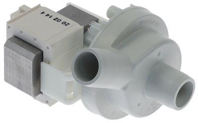 αντλία αποχέτευσης 38/43W 200-240 V ø εισόδου 24mm ø εξόδου 24mm 50/60 Hz τύπος DPS25R-393 HANNING
