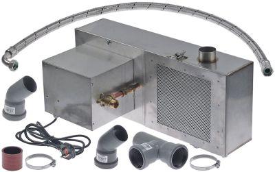 αντλία αποχέτευσης 230V με φίλτρο διαστάσεις 600x250x290mm 10.5l