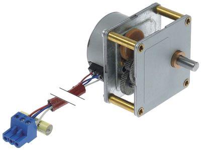 μειωτήρας CROUZET  τύπος 16,7W 230V 50Hz 1σαλ ø άξονα 8mm Μ 64mm W 64mm H 59mm για γκριλ γύρου