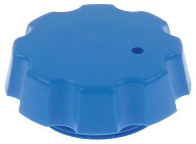 screw cap ø 43mm H 18mm blue