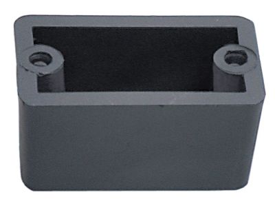 ποδαράκι Μ 50mm W 29mm H 25mm εσωτερική ø 10mm απόσταση στερέωσης 40mm Ποσ. 1 τεμ.
