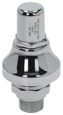 βαλβίδα ασφαλείας πίεση ενεργοποίησης 0.5bar με έγκριση CE σπείρωμα 3/4