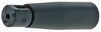 λαβή πτυσσόμενη ø 26mm συνολικό μήκος 100mm ø έδρας 20mm ø άξονα  -mm σπείρωμα M6  με πείρο