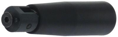 λαβή πτυσσόμενη ø 28mm συνολικό μήκος 110mm ø έδρας 20mm σπείρωμα M6  με πείρο