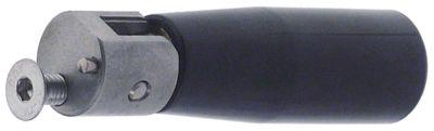 λαβή πτυσσόμενη ø 23mm ø έδρας 20mm ø άξονα  -mm σπείρωμα M6  με πείρο ανοξείδωτος χάλυβας Μ 85mm