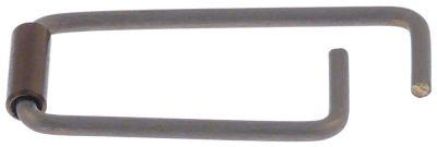 ελατήριο για λαβή πόρτας ø 6mm Μ 61mm W 27.5mm