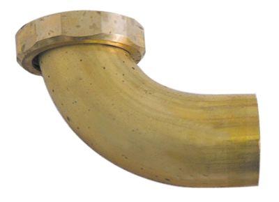 σύνδεσμος αποχέτευσης ορείχαλκος με γωνία σπείρωμα 1¼