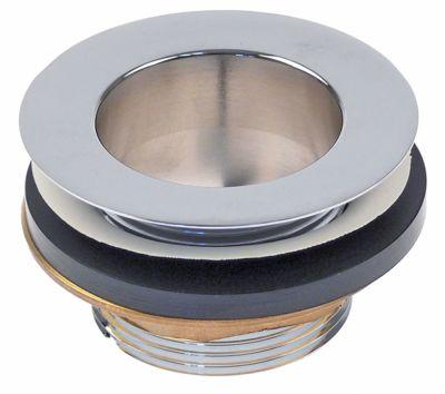 βαλβίδα στραγγίσματος μέγεθος 1½″  ωφέλιμο ύψος  -mm συνολικό ύψος 41mm ΕΞ. ø 70mm