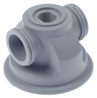 βοηθητικά εξαρτήματα βραχίονα πλύσης θέση στερ. κατώτερο ø 77mm H 62mm ø αναγν. 39mm