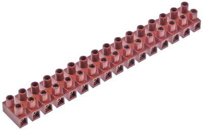 μπλοκ ακροδεκτών plug-in  16-πόλοι μέγ. 32A μέγ. 450V σύνδεσμος βιδωτή σύνδεση
