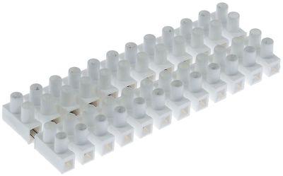 μπλοκ ακροδεκτών plug-in  12-πόλοι μέγ. 10A μέγ. 400V σύνδεσμος βίδα ανθεκτ. στη θερμ. 85°C