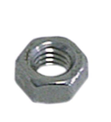 παξιμάδι εξαγωνικό σπείρωμα M6  H 5mm ΜΚ 10 Ανοξείδωτο ατσάλι DIN/ISO DIN 934 / ISO 4032/8673