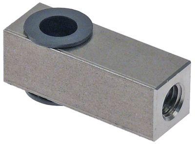 ρουλεμάν για πόρτα αριστερόστροφο σπείρωμα ø 8.3mm Μ 40mm
