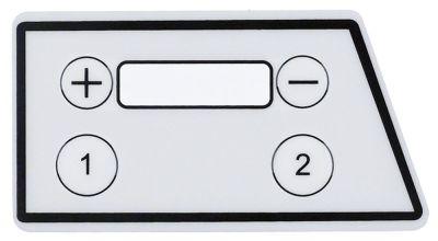 μεμβράνη πληκτρολογίου Μ 90mm W 49mm κουμπιά 4