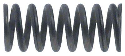 ελατήριο πίεσης ø 12.5mm Μ 30mm ø διατομής σύρματος 1.8mm περιελίξεις 7