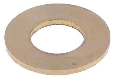 ροδέλες ø αναγν. 7.5mm ΕΞ. ø 15mm πάχος 1mm ορείχαλκος Ποσ. 1 τεμ.