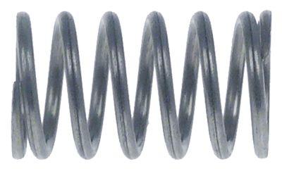 ελατήριο πίεσης ø 14mm Μ 24mm ø διατομής σύρματος 1.5mm περιελίξεις 6