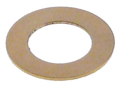 ροδέλες ø αναγν. 8mm ΕΞ. ø 14mm πάχος 0,5mm ορείχαλκος Ποσ. 1 τεμ.