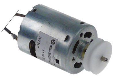μοτέρ με τροχαλία ιμάντα 24V φάσεις 1 φάση ø άξονα 2mm τύπος WRS-365SH-14134 ø 28mm Μ 32mm