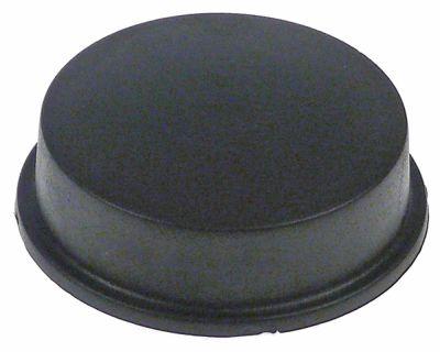 πατητήρι καφέ ø 52mm H 19mm σπείρωμα M4  πλαστικό