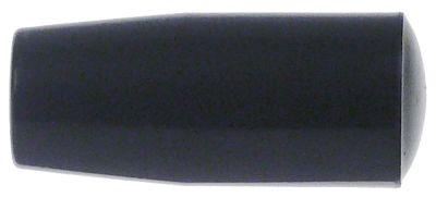 κυλινδρική λαβή σπείρωμα M8  ø 21mm Μ 50mm πλαστικό γκρι