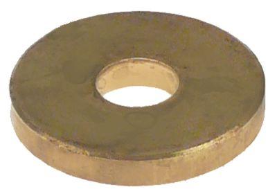 ροδέλες με στρεφόμενη λαβή ø 20mm ø αναγν. 6,4mm πάχος 3mm ορείχαλκος