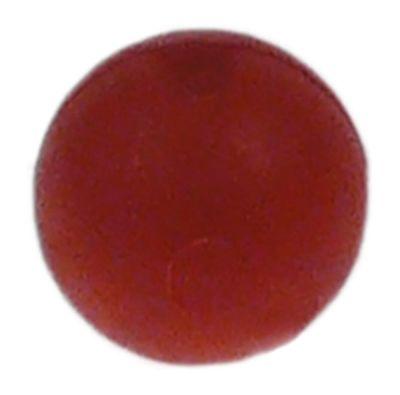 μπάλα ø 10mm πλαστικό για δείκτη στάθμης νερού κόκκινο
