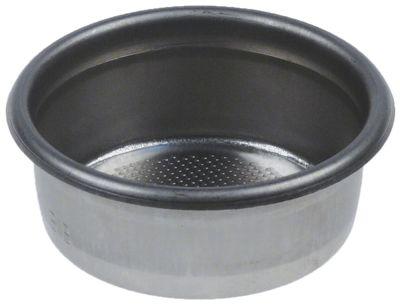 φίλτρο καφέ ø 66mm ø διάταξης στερέωσης 57mm H 25mm κύπελλα 2 ποσότητα καφέ 14g