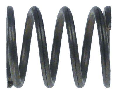 ελατήριο πίεσης ø 16mm Μ 20mm ø διατομής σύρματος 1.7mm για βάνα ατμού/νερού