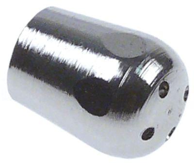 ακροφύσιο ατμού σπείρωμα M10x1  4 οπές επιχρωμιωμένος ορείχαλκος