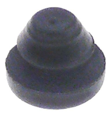 ποδαράκι σύνδεσμος ø 13mm H 4mm ø διάταξης στερέωσης 10mm συνολικό ύψος 11mm