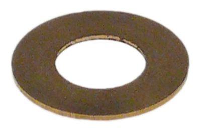 ροδέλες ø D1 14mm ø D2 7,1mm πάχος 0,5mm ορείχαλκος
