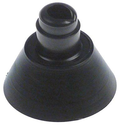 ποδαράκι ø 29mm H 24mm εσωτερική ø 5,5mm