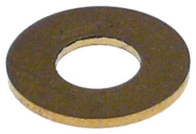 ροδέλες ø αναγν. 6,5mm ΕΞ. ø 14,5mm πάχος 1mm ορείχαλκος Ποσ. 1 τεμ.