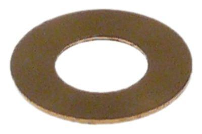 ροδέλες ø αναγν. 7mm ΕΞ. ø 14mm πάχος 0,5mm ορείχαλκος Ποσ. 1 τεμ.