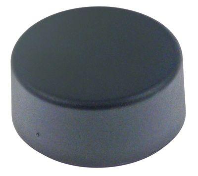 πατητήρι καφέ ø 56.5mm H 27mm σπείρωμα M8  μαύρο