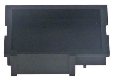 κάλυμμα υποδοχής για πληκτρολόγιο Μ 50mm W 42mm