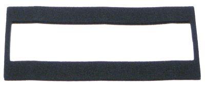 τσιμούχα για οθόνη ενδείξεων Μ 110mm W 55mm πάχος 2mm Neoprene