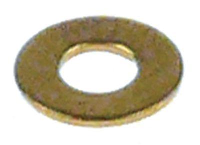 ροδέλες ø αναγν. 3,2mm ΕΞ. ø 7mm πάχος 0,5mm ορείχαλκος