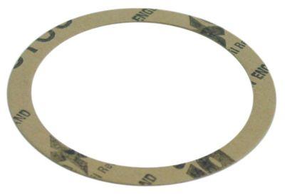 φλάντζα ø D1 71mm ø D2 58mm πάχος 0,6mm χαρτί Ποσ. 1 τεμ.