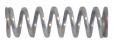 ελατήριο πίεσης ø 10mm Μ 32mm ø διατομής σύρματος 1,6mm