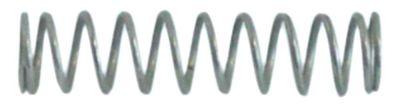ελατήριο πίεσης ø 9,5mm Μ 39mm ø διατομής σύρματος 1,1mm