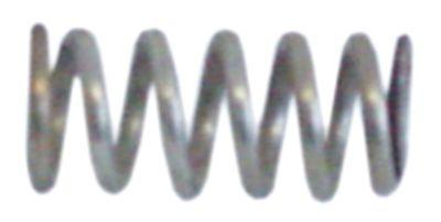 ελατήριο πίεσης ø 9,5mm Μ 21,5mm ø διατομής σύρματος 1,5mm