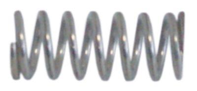 ελατήριο πίεσης ø 12.4mm Μ 30mm ø διατομής σύρματος 1.9mm