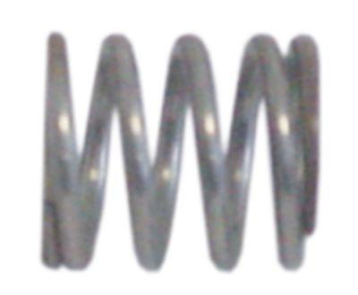 ελατήριο πίεσης ø 15mm Μ 18mm ø διατομής σύρματος 2.1mm